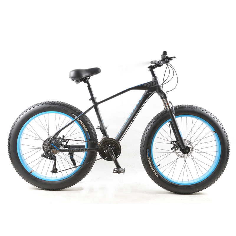 GORTAT Bicycle Mountain Bike 30 Speed Aluminum Alloy Frame 26x4.0 Fat Bicycles Snow Bikes Front And Rear Mechanical Disc Brade