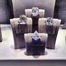 Choucong Luxus Liebhaber Versprechen Ring Sona AAAAA cz Echt 925 Sterling Silber, Verlobung, Hochzeit Band Ringe für frauen männer Schmuck