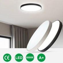 Светодиодный потолочный светильник 18 Вт 24 белый и черный цвет