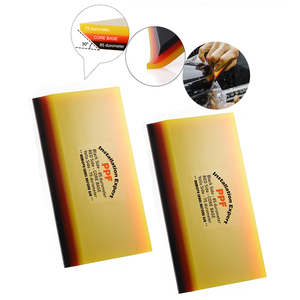Image 2 - FOSHIO Kit di strumenti per avvolgimento in vinile in fibra di carbonio accessori per auto tinta per vetri involucro morbido raschietto PPF tergipavimento pulito pala per acqua coltello