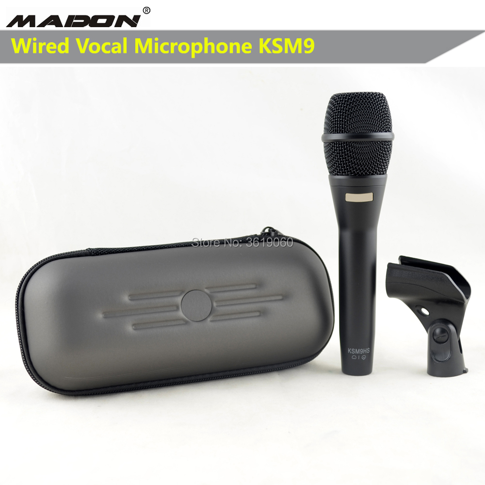 Free Shipping, KSM9 , KSM9HS, KSM9/SL , KSM9/CG  Wired Dynamic Cardioid Professional Vocal Microphone , Wired Vocal Microphone