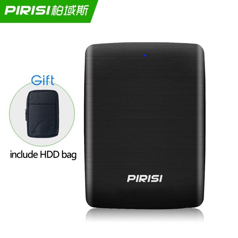 PIRISI 2.5 Portable External Hard Drive Disk HDD 1TB 2TB 80GB 120GB 160GB 250GB 320GB 500GB 750GB Storage High Speed USB3.0