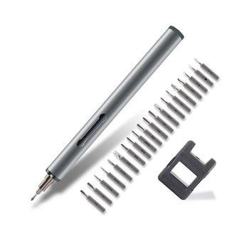 Mini Precisão Chave De Fenda Elétrica Portátil Laptop Desmontar Ferramenta De Reparo Do Telefone Móvel Da Bateria AAA Set Lote