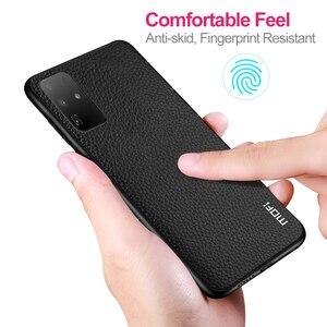 Image 5 - Pour Samsung S20 Plus housse pour Galaxy S20 Ultra S20Plus boîtier MOFi SM S20P S20Ultra Silicone antichoc Coque en cuir