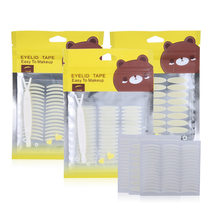 144 Pcs Double Eyelid Paste Invisible Double Eyelid Tape Transparent Self Adhesive Eye Makeup Stickers Ladies Eye Makeup Tools