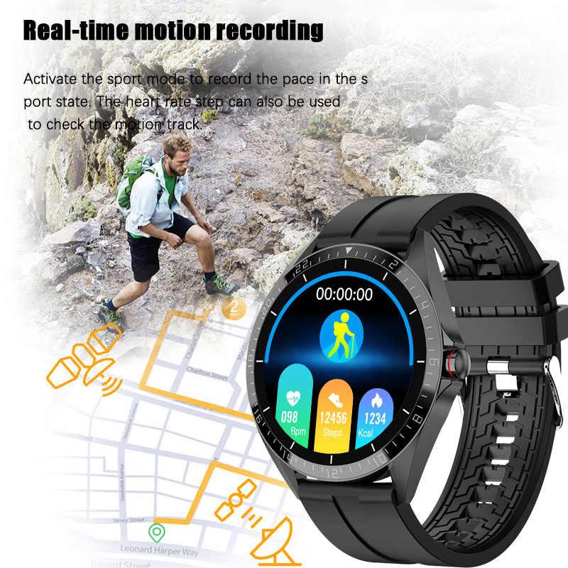 LIGEกีฬาสมาร์ทนาฬิกาผู้ชายSmartwatchผู้หญิงนาฬิกาฟิตเนสกันน้ำHeart Rateเครื่องวัดความดันโลหิตLuxury Reloj Inteligente
