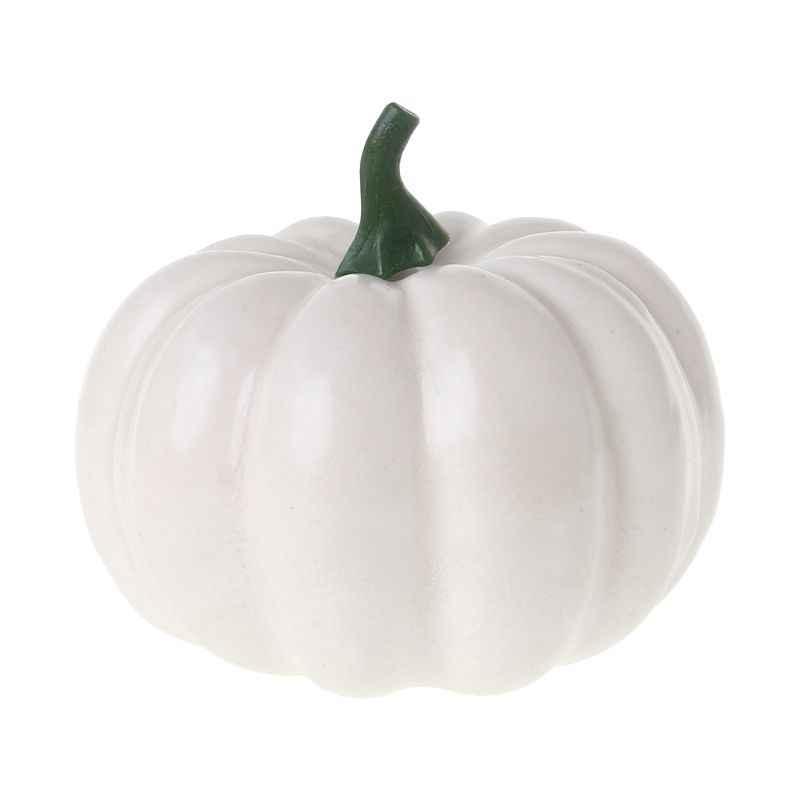Realistis Palsu Buatan Kecil Labu untuk Halloween Jatuh Panen Pesta Thanksgiving Dekorasi DIY Kerajinan