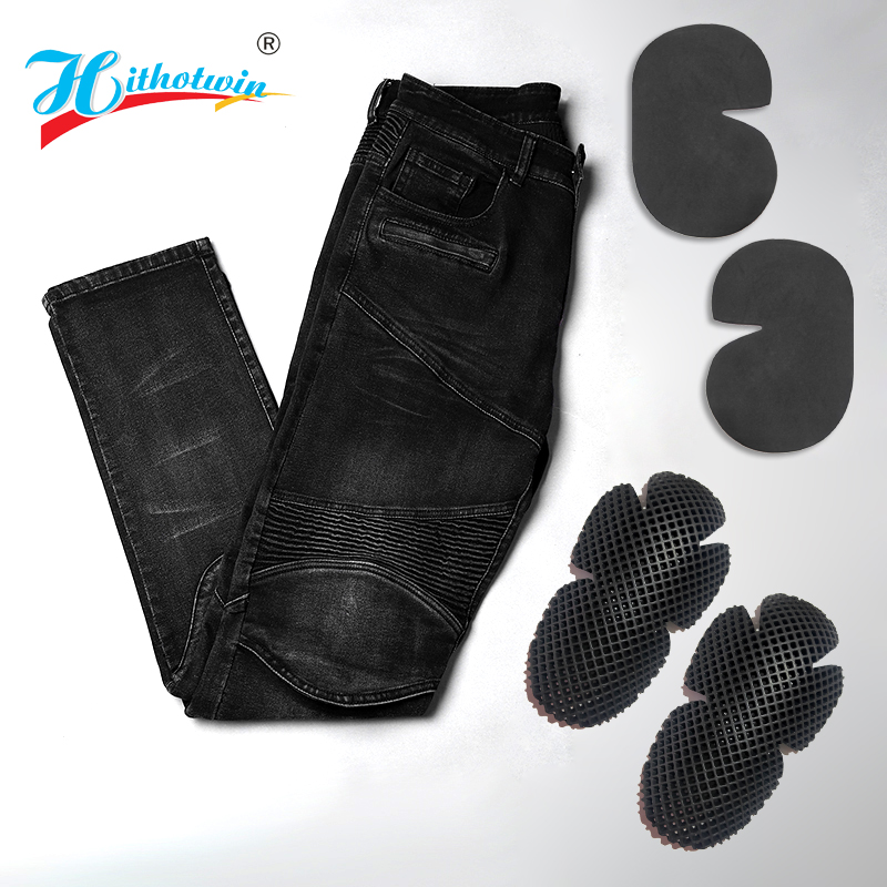 cheapest 2020 New 718 Motorcycle Pants Men Moto Jeans Protective Gear Riding Touring Motorbike Trousers Motocross Pants Moto Pants S-5XL