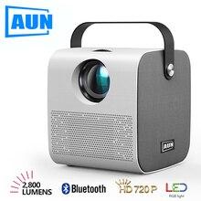 AUN 2020 Newest HD Mini Projector | AKEY7 Young 2800 lumen HIFI Bluetooth Speake