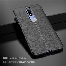 For Nokia 7.1 Plus Case 6.1 5.1 3.1 2.1 Full Cover Shockproof Armor TPU Litchi Pattern Soft 8 7 6 5 3 2 1 Cases