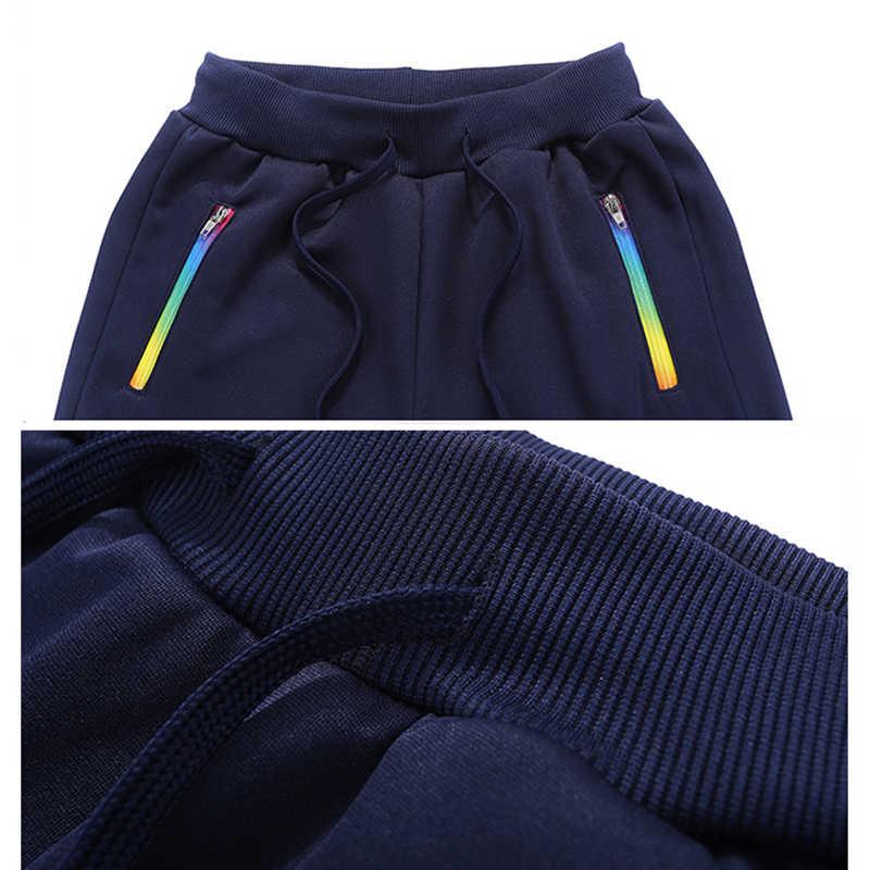 Patchwork Herren Hoodies Set Herbst Zwei Stück Lässige Männer Mit Kapuze Jacke Hose Marke Kleidung Sportswear Trainingspak Mannen