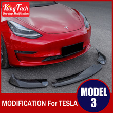 Modified-Accessories Tesla-Model for Exterior-Decoration Front-Shovel/front-Lip