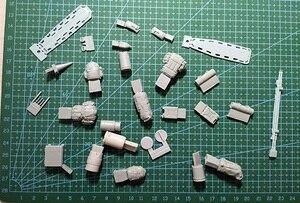 Image 2 - 1/35 モダンな設備セット樹脂フィギュアモデルキットミニチュア gk 未組み立て未塗装