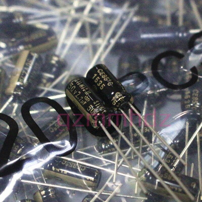 20PCS NEW ELNA RFS SILMIC II 50V2.2UF 5X11MM SILMICII 2.2UF 50V hot sale SILMIC2 50v 2.2uf audio capacitor 2.2uF/50V