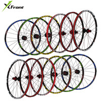 Brand RT RC3 MTB mountain bike 26 27.5 inch ultra light wheels 5 NBK sealed bearing disc quick release lever wheel wheelset Rims