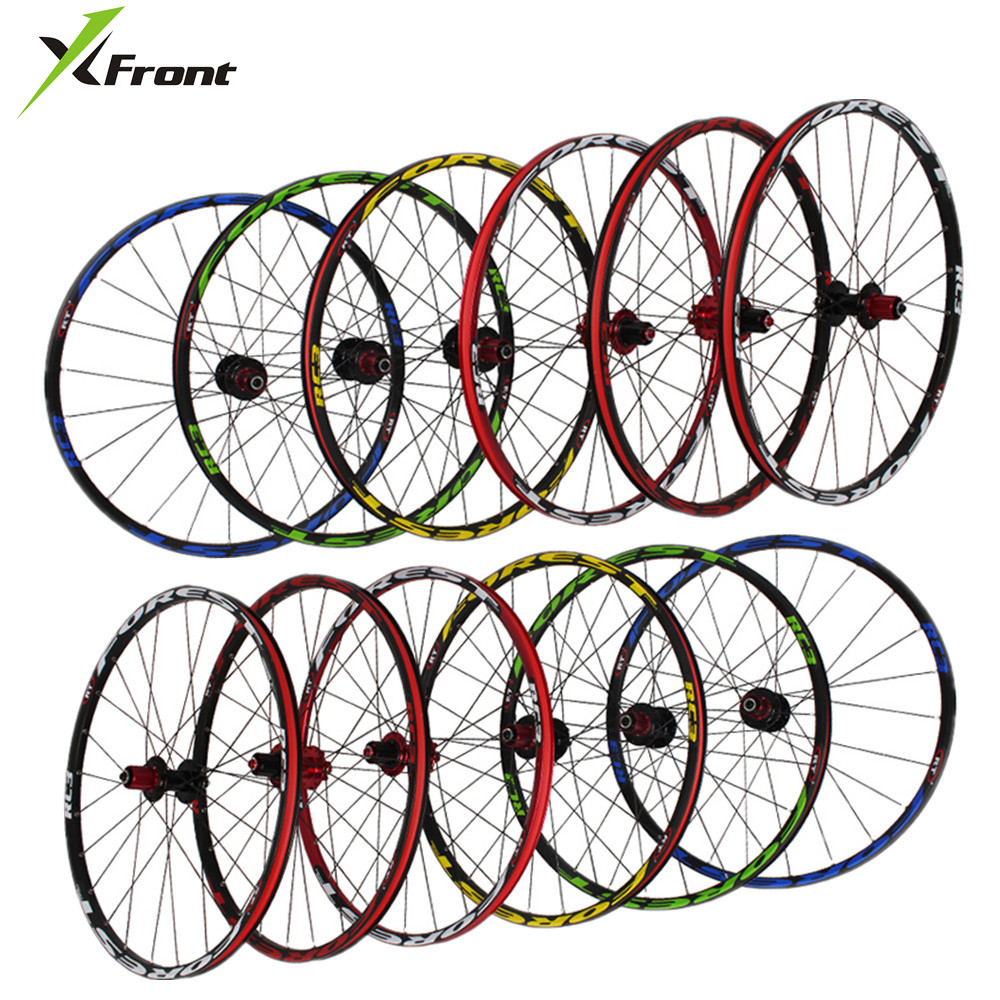 Brand <font><b>RT</b></font> RC3 MTB mountain bike 26 27.5 inch ultra light wheels 5 NBK sealed bearing disc quick release lever wheel <font><b>wheelset</b></font> Rims image