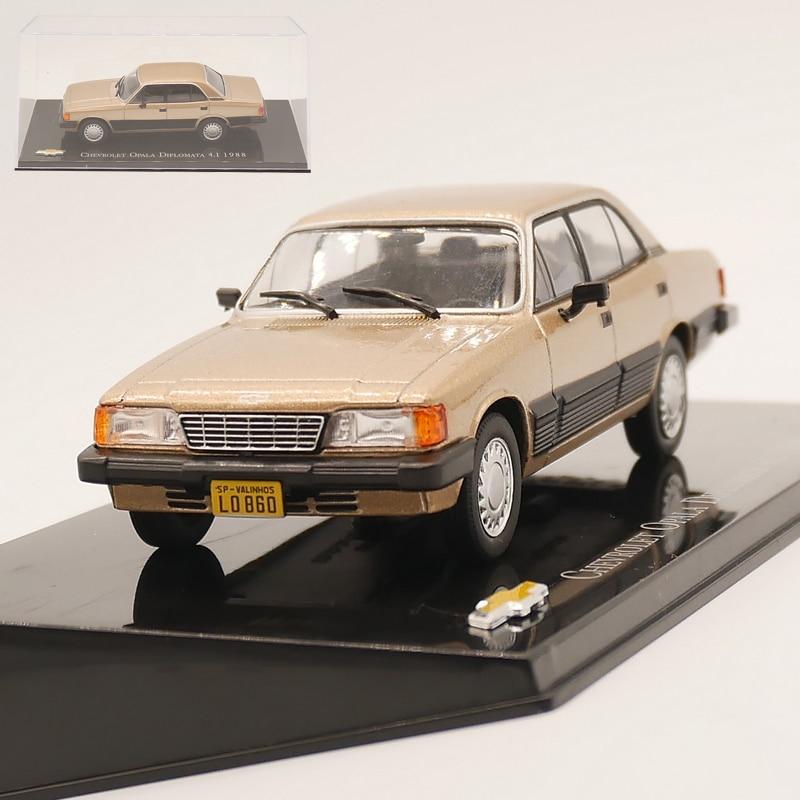 Ixo 143 chevrolet opala diplomata 4.1 1988 diecast modelo carro liga brinquedo