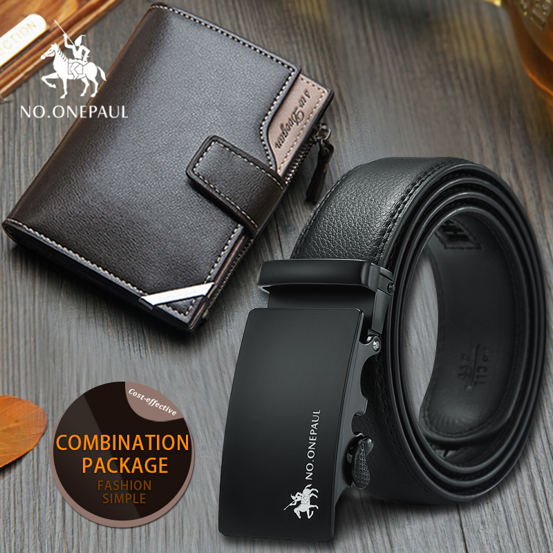 Set/sets Suit Top Leather Men BeltFashion Designers Men Automatic Buckle Leather Luxury Belts Business Male Buckle Free Shipping