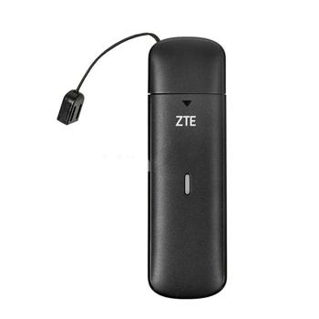 Odblokowany ZTE 150Mbps 4G LTE Modem USB MF833T 4G LTE-FDD Cat4 pamięć USB Hotspot 4G 150 mb s mifi modem klucz cat 4 układ Qualcomm tanie i dobre opinie tems nemo wireless Zewnętrzny MF833T MF833V External