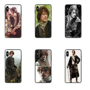Clear Soft Shell Jamie Fraser Outlander For Apple iPhone 11 12 Pro X XR XS MAX 5 5S 5C SE 6 6S 7 8 Plus image