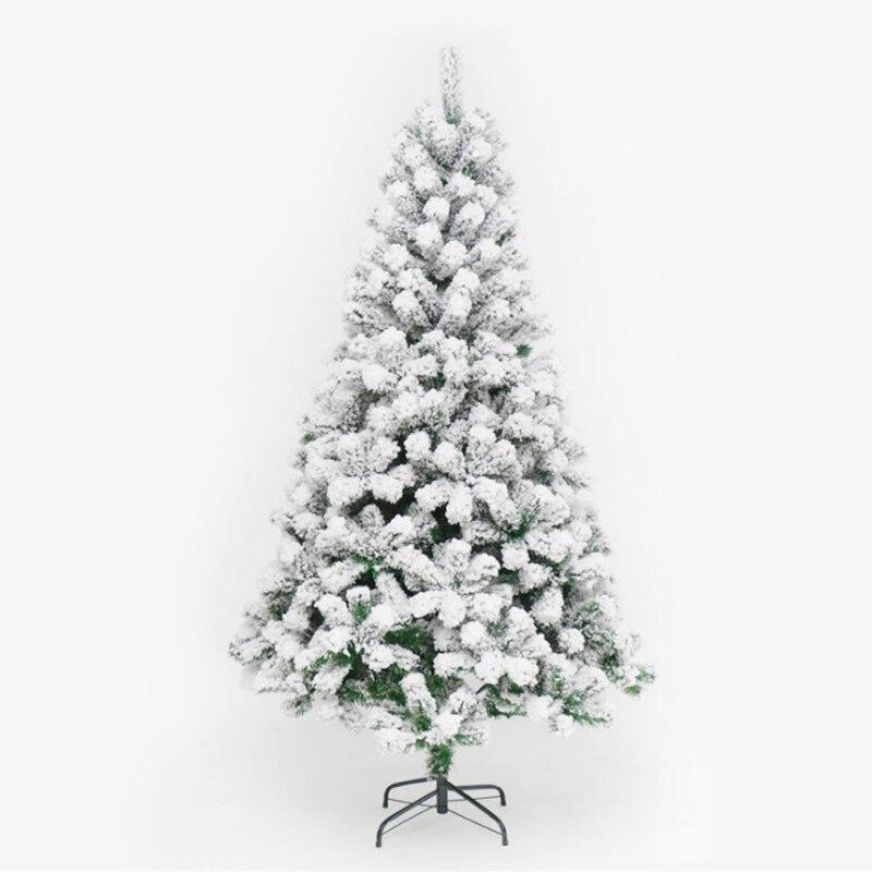 120 см ПВХ белая Снежинка Новогодняя вечеринка домашний Рождественский отель украшения Рождественская елка