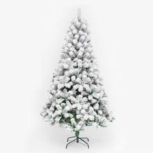цена на 210cm PVC White Snowflake Christmas Tree Party Home Christmas Hotel Decorate Christmas Tree