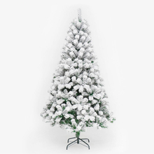 240cm PVC White Snowflake Christmas Tree Party Home Hotel Decorate