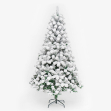 270cm PVC White Snowflake Christmas Tree Party Home Hotel Decorate