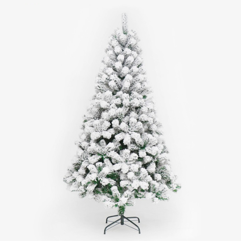 90cm PVC White Snowflake Christmas Tree Party Home Christmas Hotel Decorate Christmas Tree