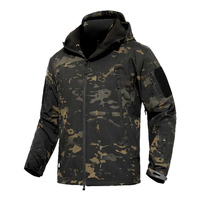 Mege Shark Skin Soft Shell Military Tactical Jacket Men Waterproof Army Fleece Clothing Multicam Camouflage