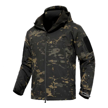 Mege Shark Skin Soft Shell Military Tactical Jacket Men Waterproof Army Fleece Clothing Multicam Camouflage Windbreakers 4XL - discount item  58% OFF Coats & Jackets