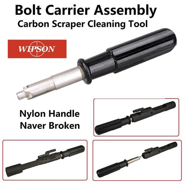 WIPSON AR15 M16 .223 винтовка Сталь затворной рамы углеродистый скребок инструмент для очистки пистолета правильной очистки перевозчика с Brownells скр...