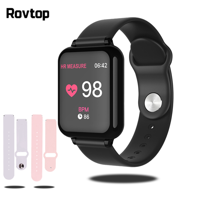 Bluetooth Smartwatch Sport Watch B57 Wrist Watch Blood Pressure Watch For Men Women Waterproof Watches Pedometer Smart Wristband