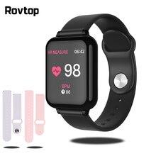 Smartwatch Bluetooth zegarek sportowy B57 zegarek na rękę zegarek do pomiaru ciśnienia krwi dla mężczyzn kobiety zegarki wodoodporne krokomierz inteligentna opaska na rękę