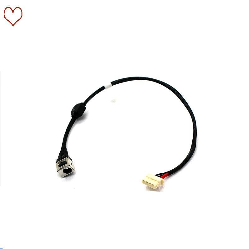 Novo portátil dc jack cabo de alimentação dc porto conector de carregamento cabo de fio para toshiba l650 l655 l650d l655d l750 l755 l705