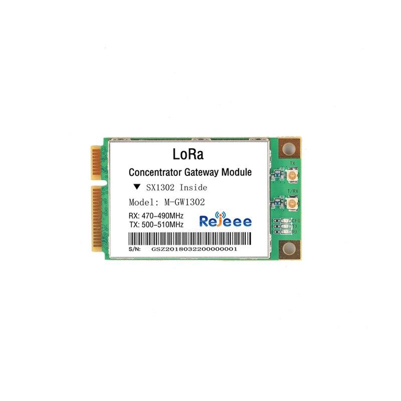 Versão atualizada de sx1301/sx1302/módulo de gateway de transmissão transparente frente e verso completo lora