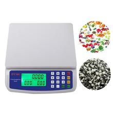 Цифровые весы Вес весы ЖК-дисплей Дисплей точность Вес Весы(30 кг/1G/без Батарея и кабель