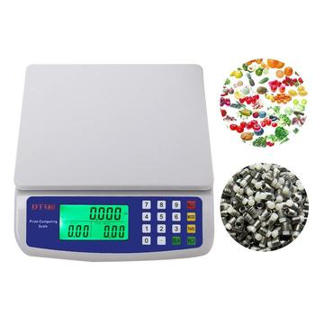 30kg/1g Electronic Kitchen Scale Food Diet Scales Measuring Tool Accuracy LCD Digital Electronic Weighing Scale For Shop Market seebz electronic scales interface board for bizerba bcii800