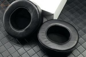Image 3 - Echt Lamsleren Ear Pad Voor Sony MDR DS7500 MDR HW700DS Hoofdtelefoon Foam Kussen Oorbeschermer