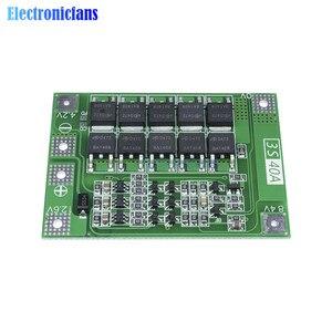 Image 3 - 3S 40A Li Ion Batteria Al Litio Caricabatterie Lipo Cellulare Modulo Pcb Bms Bordo di Protezione per Il Motore Del Trapano 12.6V con equilibrio
