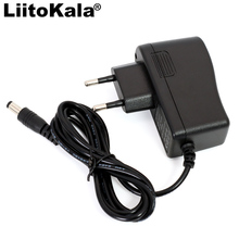 Liitokala 8.4 v 18650 リチウムポリマー電池充電器 dc: 5.5*2.1 ミリメートル、 eu/米国の規制プラグ