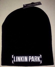 LICENSED BEANIE SKULL CAP ROCK NEW! t-shirt Chester Bennington(China)