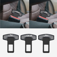 1pcs Car Belt Buckles Safty Belt Alarm Canceler Stopper for Mazda 3 mazda 6 CX 5 CX-5 CX3 323 Axela Atenza accessories