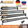 "Auxtings 22"" 32"" 42"" 52""inch Led Light Bar Work Light 7D led bar 3 Row 4x4 Truck ATV Car Offroad Driving Straight Light Bar"