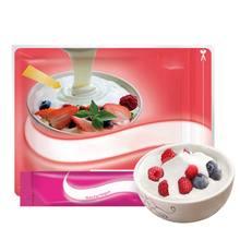 Yoğurt maya marş doğal 10 tip probiyotik ev yapımı Lactobacillus fermantasyon tozu makinesi 10g ev yapımı