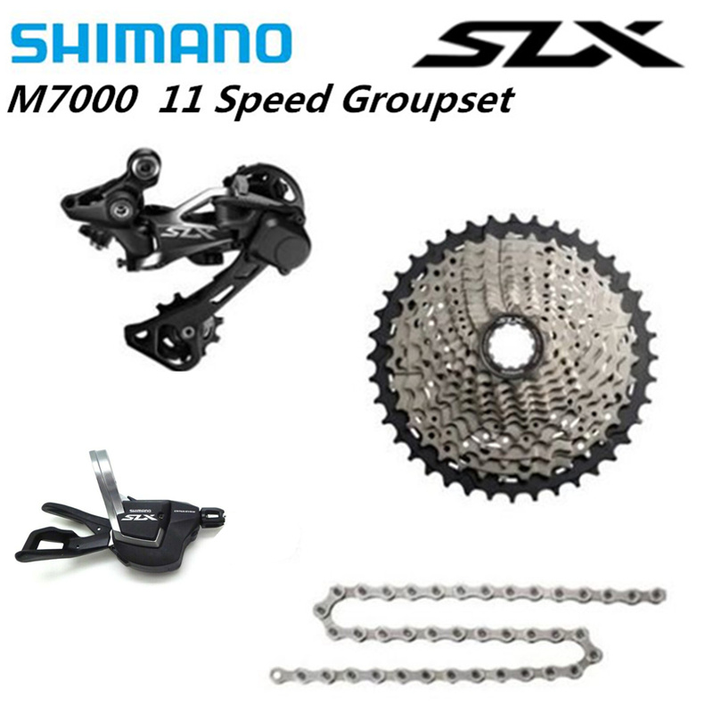 SHIMANO 2020 NEW DEORE  M5100 SX M7000 1x11 Speed Groupset MTB Mountain Bike Contains Shift Lever Rear Dearilleur Cassette Chain-1