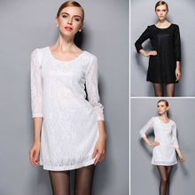 Goocheer New Women Vintage Summer Slim Fit Cheongsam Evening Party Wedding Lace Floral Dress