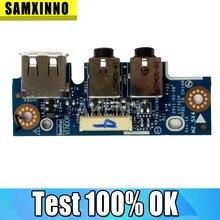 Para Asus K43TA K43TK K43BR K43BY K53B K53B K53TK K53T K53U K43U X43U PBL50/60 LS7322P usb IO board placa de Interface De Áudio Portátil