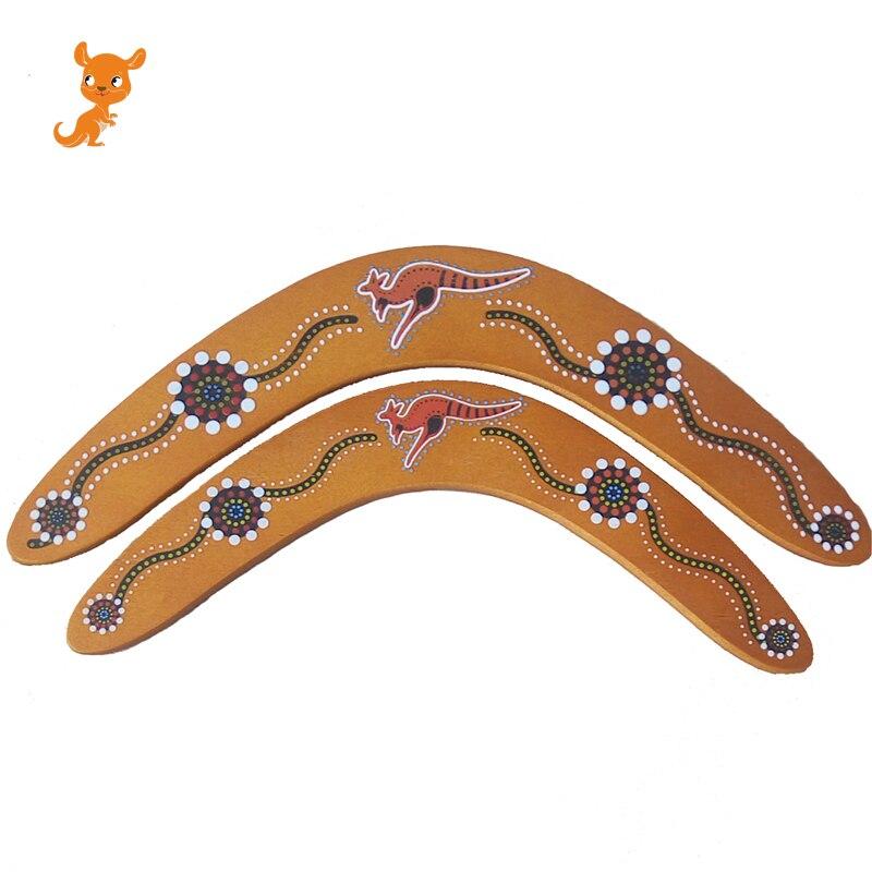 Juguete de exterior para niños, Boomerang de madera con dardo profesional en forma de V, Boomerang de madera, equipamiento deportivo para exteriores