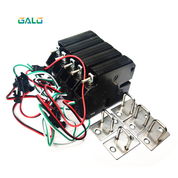 10pcs 201A Electric Control Lock DC 12V 2A Electromagnetic Door Lock Cabinet Drawer Lockers Lock Latch Carbon Steel Padlock dc 12v 2a small solenoid electromagnetic electric control cabinet drawer lockers lock pudsh push design automatic open the door
